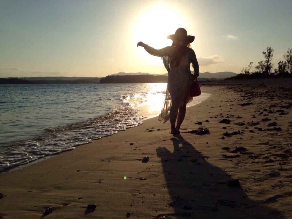 宮古島,沖縄,キャバクラ,ブログ画像,ビーチ,サンセット