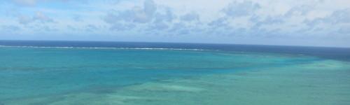 宮古島の海と空