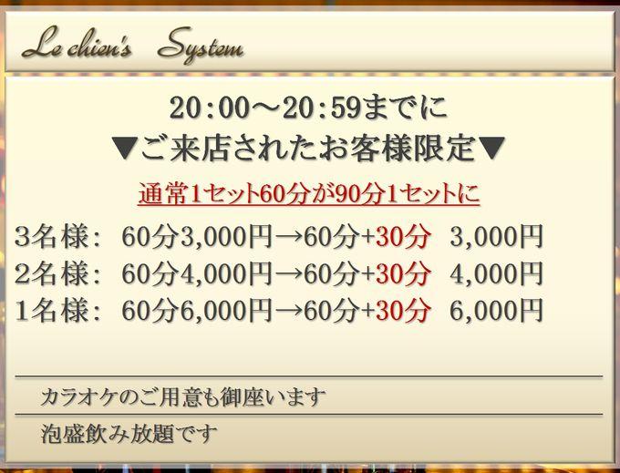 ルシアンシステム表
