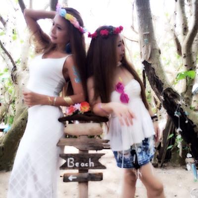 Beach…